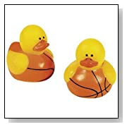 Basketball Rubber Ducks