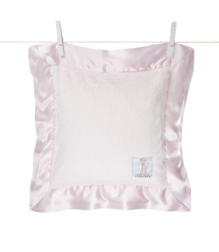 Little Giraffe Luxe Pillow, Pink