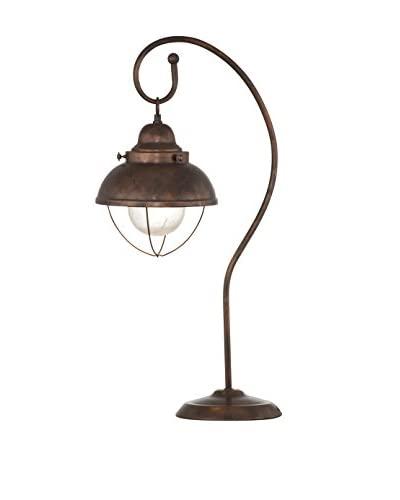 Bassett Mirror Co. Alleghany Table Lamp, Copper