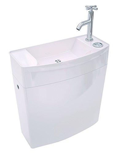 Wirquin 50720090 Iseo - Lavello con cassetta WC bassa