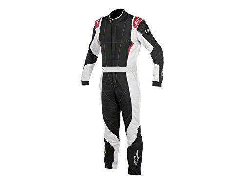 Alpinestars GP PRO Suit (Black/Steel Gray/Red, Size 60)