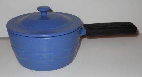 Longaberger Flameware Lidded Saucepan - Color Cornflower - Not Available In Catalog!