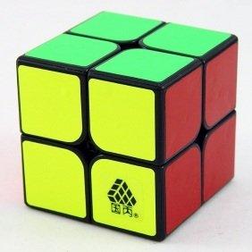 Black WitTwo Type C 2x2x2 Cube Puzzle - 1