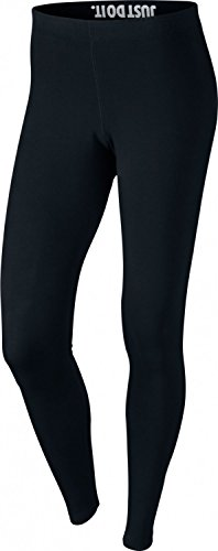 Nike Womens Leg-A-See Logo Leggings Black/White 806927-010 Size Large