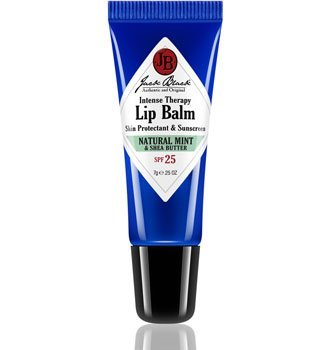 Jack Black Intense Therapy Lip Balm SPF 25 with Natural Mint & Shea Butter .25oz