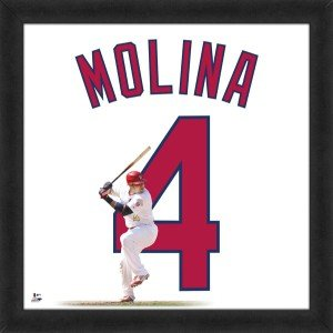 Yadier Molina St. Louis Cardinals 20x20 Framed Uniframe Jersey Photo by Biggsports