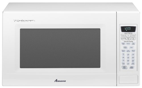 Amana 2.0 cu. ft. Countertop Microwave, AMC2206BAW, White