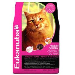 Detail image Eukanuba Weight Control Dry Cat Food 16lb