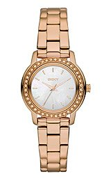 DKNY 3-Hand with Glitz Women's watch #NY8598
