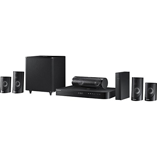 Samsung HT-J5500W 5.1 Channel 1000-Watt 3D Blu-Ray Home Theater System (2015 Model)