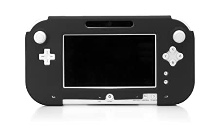 Wii U Gamepad Silicone Jacket - Black