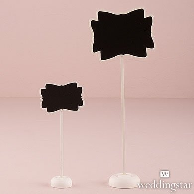 Decorative-Chalkboard-with-Stand-Medium-White