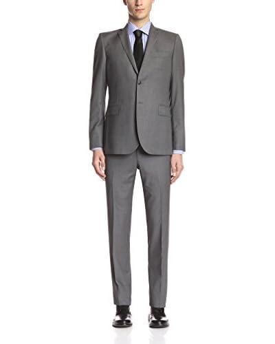 Pierre Balmain Men's Solid 2 Button Slim Fit Suit