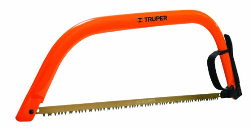 Images for Truper 30257 24-Inch Steel Handle Bow Saw, Cam Lever Quick Change Blade Release, Orange