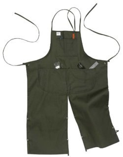 4 POCKET SPLIT LEG APRON #M71 Canvas