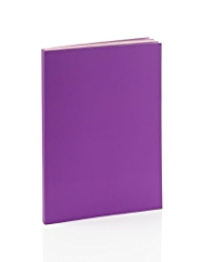 Premium A5 Purple Lined Notebook