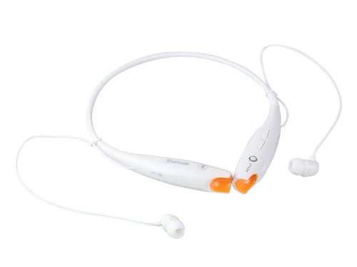 White Wireless Bluetooth Version 4.0+Edr Hv-800 Neckband Sport Stereo Universal Headset Headphone For Smartphone