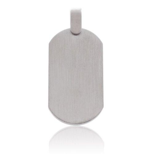 Stainless Steel Plain Engraving Pendant,