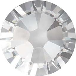 New Swarovski Elements 2058 (2028) Foiled Flatbacks ss 14 Crystal Clear 10 Gross (1440) Rhinestones Factory Pack