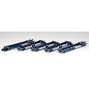 Athearn HO RTR Maxi Stack I Well Car/Early, K-Line/RBCX #1014 (set of 5)