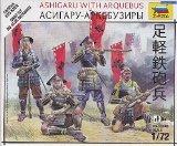 Zvezda Models Ashigaru with Arquebus - 1