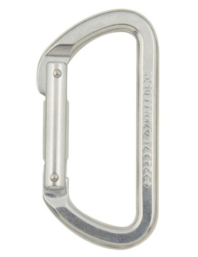 Black Diamond Light D Carabiner Polished One Size