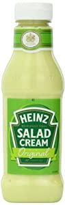 Heinz Salad Cream (Dressing) Original, 14.9 Ounce Squeeze Bottles