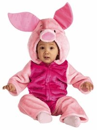 Disney's Plush Infant Baby Piglet Costume (12-18 Months)