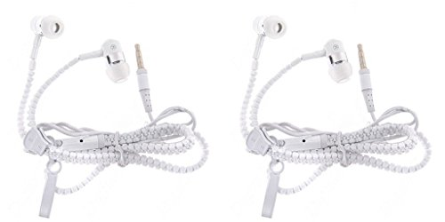 JIYANSHI Combo Of Stylish Earphone White Compatible With HTC Desire 526G+ Dual Sim
