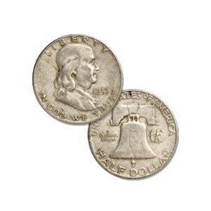 "1953-D U.S. Franklin ""Silver"" Half Dollar"