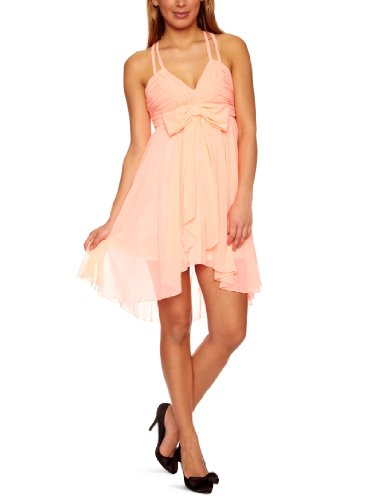 Lipsy DR05700 Women's Dress Coral 12