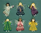 QUILLING KIT - CHRISTMAS ANGELS-MAKES 6