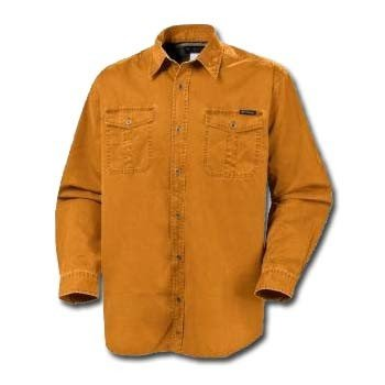 Columbia Saddle Peak Long Sleeve 2 Pocket Big and Tall Shirt - Medallion Gold