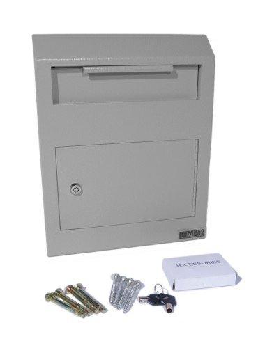 Brand New Durabox Wall Mount Locking Deposit Drop Box Safe