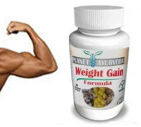 (60 Tablets) Planet Ayurveda Weight Gain Formula (GAIN MASS) Gain weight men - gain mass quickly! Mass Gainer Planet Ayurveda pills to gain weight for men - Gain True Mass Easily!