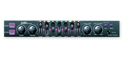 Dhd Ntx-6202 7 Active Graphic (100-Watt) Equalizer W/Aux Input For Iphone, Ipod, Ipad Or Other Digital Music Devices