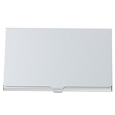 Moma muji aluminum card case thin apparel accessories for Muji business card holder