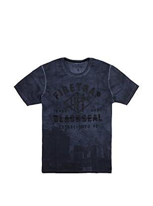 Firetrap Camiseta Manga Corta Orradale (Azul Marino)