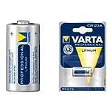 """Varta CR123A 3V 1.500mAh Lithium Fotobatterievon """"Varta"""""""