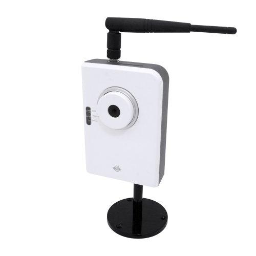【Amazonの商品情報へ】PLANEX iPhoneでカメラ映像が確認できる 11n/b/g 無線・有線LAN対応ネットワークカメラ (130万画素) CS-W05NM