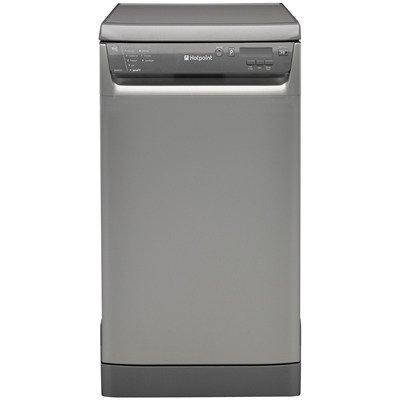Hotpoint SDD910 Slimline Dishwasher, Graphite