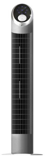 For Sale! Miallegro 1760 Air Ionizer Tower Fan with Remote Control Oscillates Internally