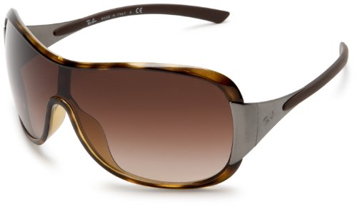 Ray-Ban Women's RB4091 Resin Sunglasses,Shiny