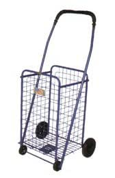 Black Folding Shopping Cart Strong frame (Small size)