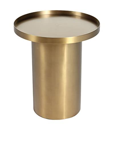 Control Brand The Ostfold Side Table, Brass Gold