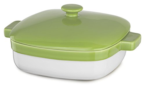 KitchenAid KBLR42CRYL Streamline Ceramic 4.2-Quart Casserole Bakeware - Key Lime