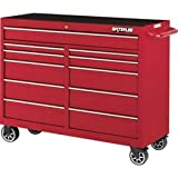 Waterloo 52″ 11-Drawer Tool Cabinet, Red with Non-Slip Drawer Liners (PCA-5211RD-L Picture