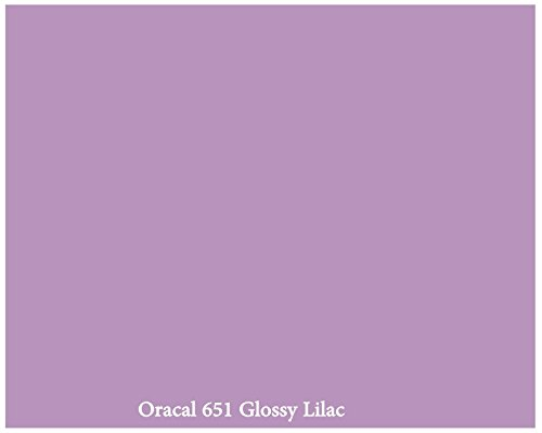 "12"" X 10 Ft Roll Of Glossy Oracal 651 Lilac Repositionable Adhesive-Backed Vinyl For Craft Cutters, Punches And Vinyl Sign Cutters By Vinylxsticker front-724362"