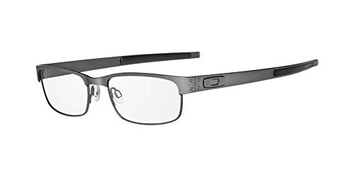 Oakley Metal Plate Eyeglasses New 100% Authentic (Brushed Chrome, 55) (Oakley Frame Glasses compare prices)