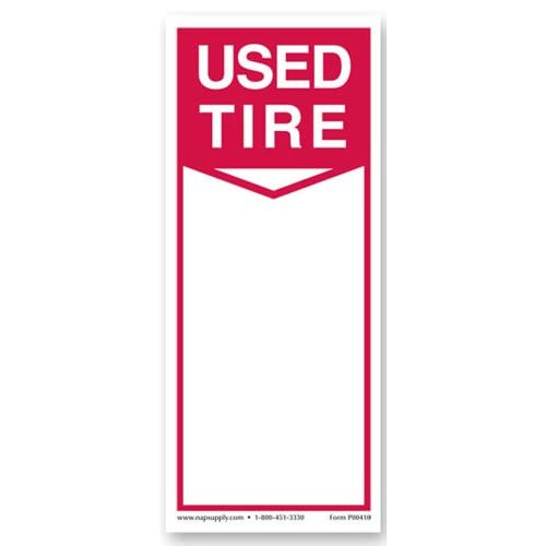Amazon.com : Tire Label - USED TIRE : Pricemarker Labels : Office